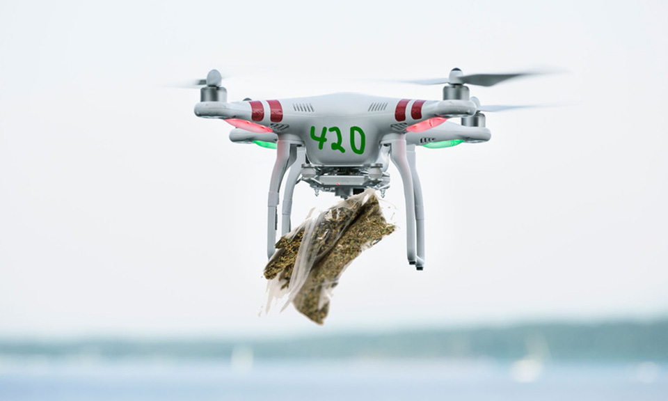 CA bans cannabis delivery by drone